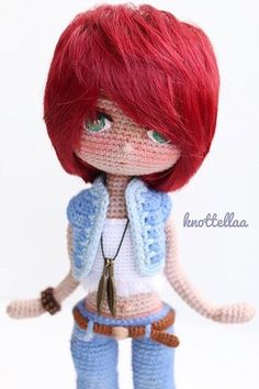150 Best Cute Crocheted Amigurumi Patterns Ideas Pictures - Page 41 of post was discovered by kesmat maher. amigurumi for beginners; Crochet Dolls Free Patterns, Crochet Doll Pattern, Amigurumi Patterns, Amigurumi Doll, Doll Patterns, Crochet Gifts, Crochet Yarn, Crochet Toys, Free Crochet