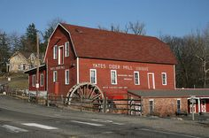 A Fall Family Tradition - a visit to Yates Cider Mill for warm donuts and delicious apple cider.