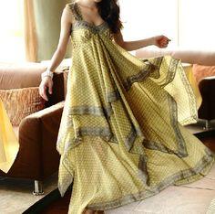 Chiffon dress (018). $69.00, via Etsy. by yuerli  looooooooove it!