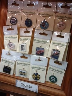 Pick your favorite sports team pendant & a matching necklace.