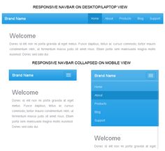 Build Responsive Navigation Menu with Twitter Bootstrap