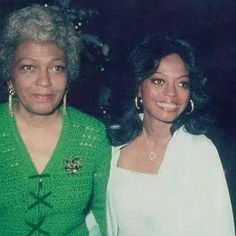 Tracee Ellis Ross: Just found this! My Mama and my grand Mama! #Ernestine #RossFamilyRocks #TBT