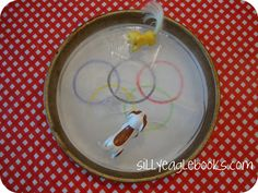 #Olympics craft for kids: Make a mini ice rink for toys #winterolympics #2014olympics #sochi