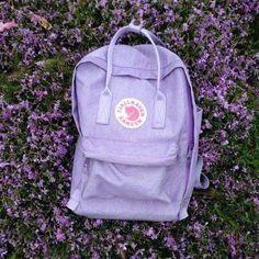 My - Depop Mochila Kanken, Mini Mochila, Lavender Aesthetic, Purple Aesthetic, Mochila Grunge, Aesthetic Backpack, Cute Bags, School Backpacks, Trendy Backpacks