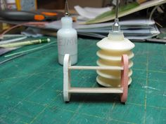 Dollhouse Miniature Furniture - Tutorials | 1 inch minis: Another Quilled Project, A Shelf