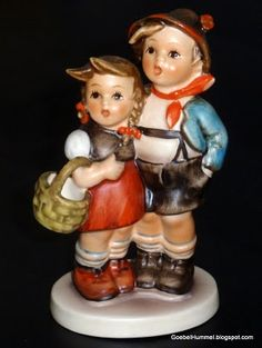 Hummel Figurines.
