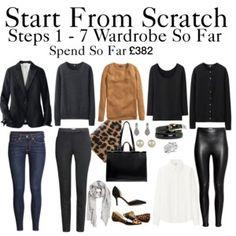 Start From Scratch Wardrobe Steps 1 - 7