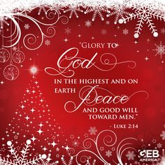 give glory to god luke 24 - Best Christmas Verses