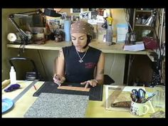 "Silver Beyond Ordinary ""Leather Tooling"" - YouTube"