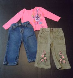 Baby & Toddler Clothing Youth Girls Cherokee 12 Animal Leopard Print Pants Courderoy Easy To Lubricate