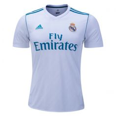 Free Shipping!  $14.99-$24.99 17-18 Real Madrid Home Soccer Jersey Shirt