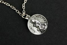 Patron Saint of Adopted Children. Catholic Saints, Patron Saints, Saint William, Adopted Children, Adopting A Child, Charms, Dangles, Pendant Necklace, My Style