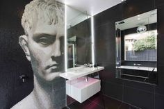 Minosa Design: A modern seamless bathroom with true WOW factor.