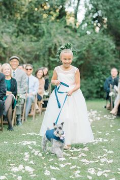 Adorable duo walking down the aisle (image by Aaron and Jillian Photography) Designer Flower Girl Dresses, Walking Down The Aisle, Rustic Elegance, Wedding Gallery, Special Occasion Dresses, Wedding Styles, Real Weddings, Tulle, Bride