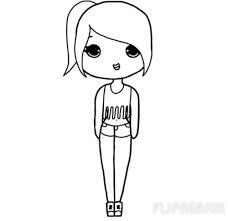 Image result for cartoon tumblr drawings easy chibi Más