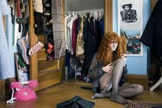 """Anna F, Winchester, MA 2009 - """"A girl and her room"""" by Rania Matar"""