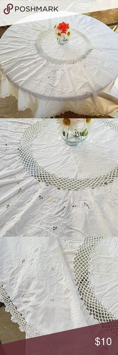 """SEQUIN LACE MASTERS ROYAL SCALLOPED EDGES Dresses tablecloth 55/"""" WIDE BTY"""