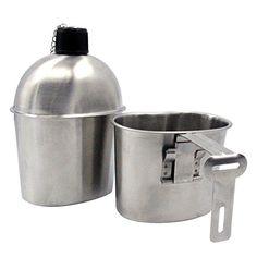 Military Stainless Steel Canteen with Cup G.I. Solomone Cavalli http://www.amazon.com/dp/B00SWJ01NM/ref=cm_sw_r_pi_dp_Lzkkwb1TQCB35