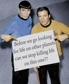 .Leonard Nimoy And William Shatner.Circa Late 60's