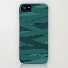 Teal in Love iPhone Case
