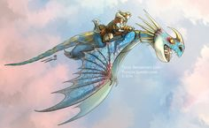Httyd 2 Astrid and Stormfly by Ticcy on DeviantArt