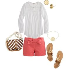 """""""Simple, Preppy Style."""" by rebekahcutshall on Polyvore"""