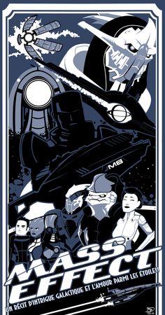 Mass Effect Poster by ~joefreakinrocks