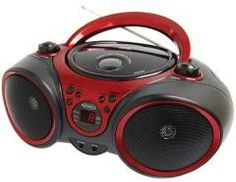 Boom Box:Jensen Portable Stereo CD Player with AM/FM Stereo Radio