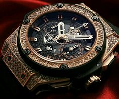 Beautiful Hublot. Timepiece...all in the details. #simple #stylishgents #gqstyle…