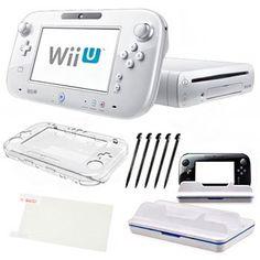 Nintendo Wii U White 8GB Holiday Bundle - http://www.specialdaysgift.com/nintendo-wii-u-white-8gb-holiday-bundle/
