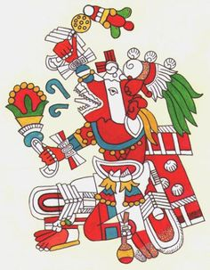 Huehuecóyotl Aztec god of music, dance and song