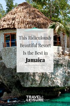 This all-inclusive resort in Jamaica is absolutely beautiful! With beautiful blue waters, an amazing spa, and tons of things to do for a family! The perfect honeymoon destination or couples getaway! #Resort #Jamaica #AllInclusive #BlueWater #Natural #Earth #Travel #Honeymoon #Vacation | Travel + Leisure - This Ridiculously Beautiful Resort Is the Best in Jamaica. And it's reasonably priced, too.