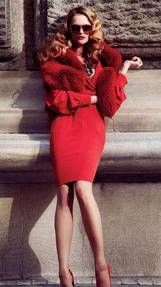 Vogue Turkey September 2010: Anna Zakusylo by Emre Ünal