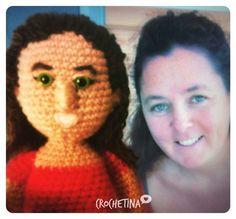 Laure !!!  #crochetlovers #dmcnaturajustcotton #crochetofinstagram #amigurumi #amigurumis #lovelivecrochet  #crocheting #amigurumidoll #amigurumipersonalizado #handcrafted #amigurumipersonales by crochetina_
