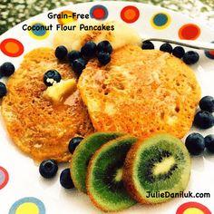 Grain-Free Coconut Flour Pancakes