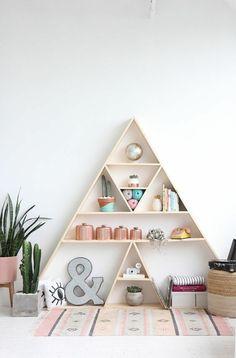 1 diy moebel diy wohnideen regalsystem aus holz pyramide