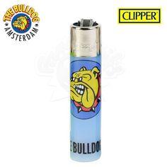 Briquet Clipper © Bulldog Amsterdam (Bleu)