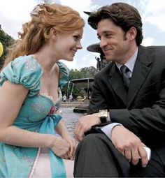 Seven years after Amy Adams charmed Patrick Dempsey with her live-action princess routine, Enchanted is back for a second adventure. Disney Pixar, Walt Disney, Disney E Dreamworks, Disney Films, Disney Love, Disney Magic, Disney Stuff, Enchanted Movie, Giselle Enchanted