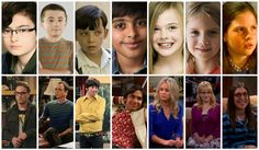 Big+Bang+Theory+Fan+Art | The Big Bang Theory Now And Then By Lindsey Cullen1 On Deviantart