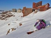 If the winter months in the northern hemisphere alone don't salve your passion for the sport, there's always Valle Nevado in #Chile. #Ski Specialist Thecla Vis skied there June-October. Located in the heart of the majestic #Andes, only a 1 1/2 hour drive from Santiago, Valle Nevado has become a major South American Mountain destination.