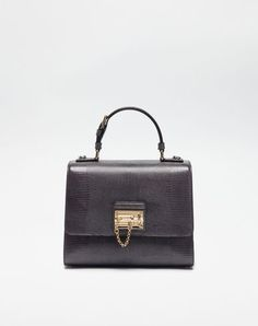 DOLCE & GABBANA Leather Monica Bag. #dolcegabbana #bags #shoulder bags #hand bags #lining #leather #cotton #