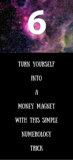 Turn yourself Into A Money magnet With this Easy Numerology Trick http://vid.staged.com/WYct
