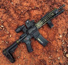 Airsoft Guns, Weapons Guns, Guns And Ammo, Tactical Rifles, Firearms, Shotguns, Ar Pistol Build, Ar15 Pistol, Armas Airsoft