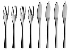 Solex 200402568 Sophia 4Piece Fish Knives Set of 8 *** Learn more @