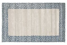 "Caia Rug, Silver/Gray, on OneKingsLane.com | hand-tufted wool/viscose, India | 5/8"" pile height | 485.00-960.00 retail | 285.00-559.00 OKL"
