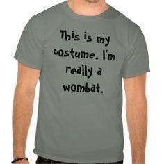 Wombat Costume T-shirt