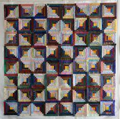 log cabin quilt. so many variations!