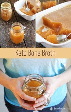 Bone Broth Keto Bone Broth : Super-easy, delicious and healthy low-carb essential!Keto Bone Broth : Super-easy, delicious and healthy low-carb essential! Ketogenic Recipes, Low Carb Recipes, Real Food Recipes, Cooking Recipes, Healthy Recipes, Fast Recipes, Flour Recipes, Sauce Recipes, Dessert Recipes