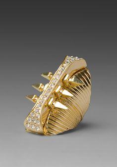 Belle Noel - Glam Rock Long Finger Ring $25 on sale