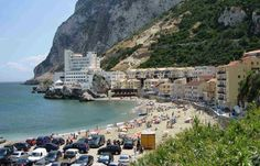 Catalan Bay, Gibraltar | Best winter sun destinations | http://www.weather2travel.com/blog/best-winter-sun-destinations.php #travel #weather